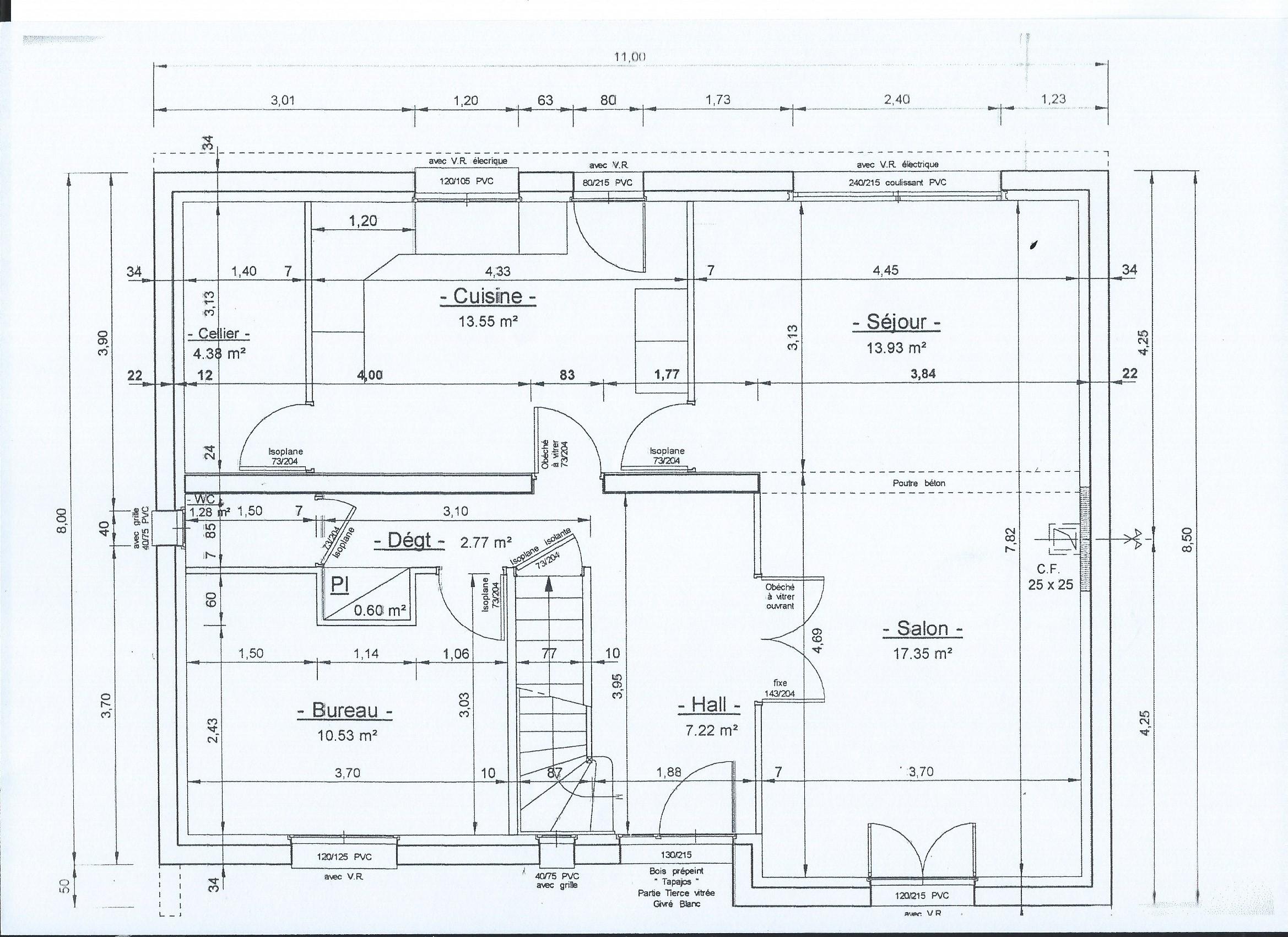 Plan Cuisine Sous Pente besoin de conseils pour maison avec combles 130m2 env - 19