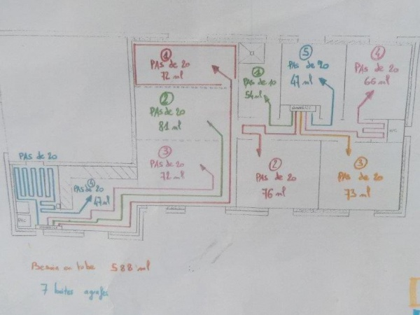 branchement 2 zones plancher chauffant sur pompe chaleur. Black Bedroom Furniture Sets. Home Design Ideas