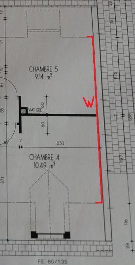 w multipli par hsp hauteur sous plafond la surface au dessus du plafond sera compte te laissera un peu de marge pour les encadrements vlux - Calcul D Une Surface A Peindre
