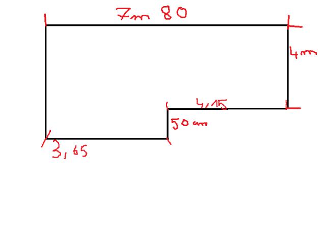 Calcul de surface d 39 une terrasse 8 messages - Calcul surface utile bureaux ...