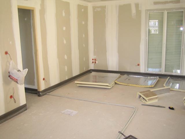 Bande priphrique plancher chauffant simple ordre de - Bande resiliente plancher ...