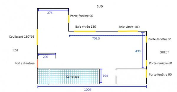 calepinage stratifié - 6 messages - Parquet Perpendiculaire A La Fenetre