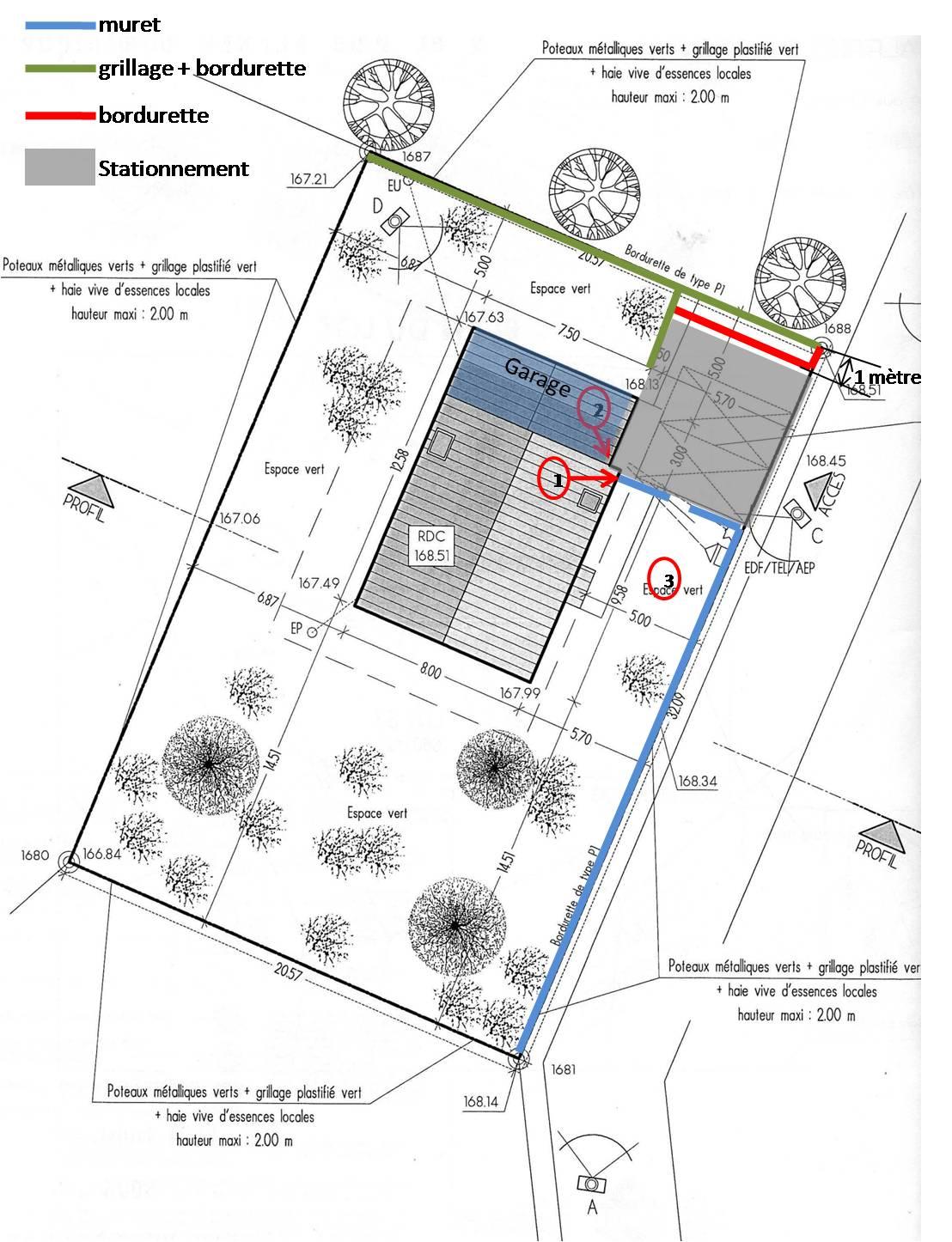 Caniveau stationnement 6 messages - Faire un plan de garage ...