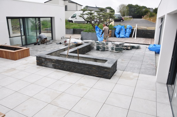 Carrelage sur plots sur dalle b ton 60 messages page 2 for Etancheite terrasse beton avant carrelage