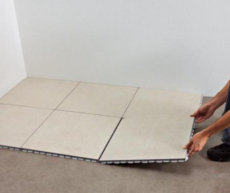 carrelage en pose flottante 12 messages. Black Bedroom Furniture Sets. Home Design Ideas
