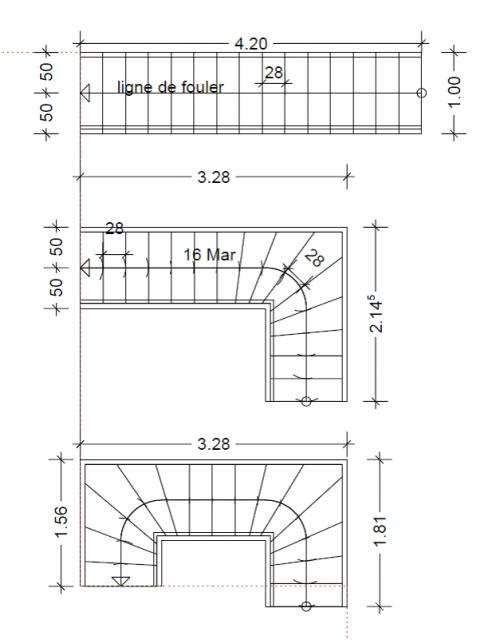 choix pour escalier et avis sur la fonctionnalit du rdc. Black Bedroom Furniture Sets. Home Design Ideas