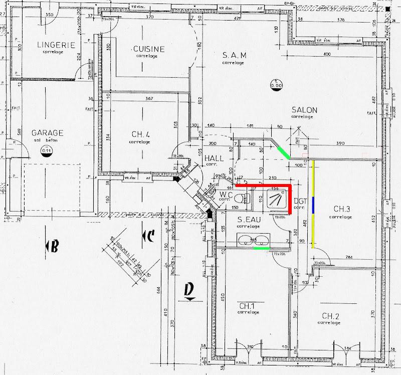 cloison en brique et platre qui se fissure en horizontale. Black Bedroom Furniture Sets. Home Design Ideas
