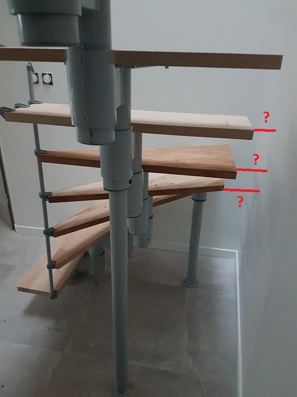 comment combler espace vide marche mur 6 messages. Black Bedroom Furniture Sets. Home Design Ideas