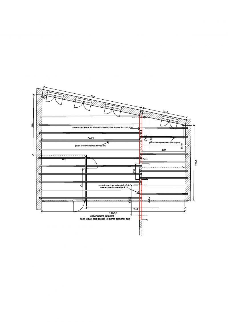 calcul dimensionnement ipe ouverture mur porteur 4 messages. Black Bedroom Furniture Sets. Home Design Ideas