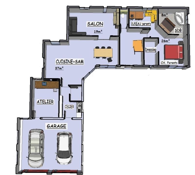 Conseil avis sur mes plans de maison je suis preneur for Mes plans de maison
