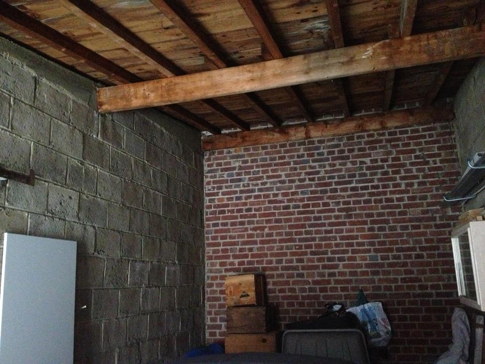 conseil etage avec plancher osb dans un garage 13. Black Bedroom Furniture Sets. Home Design Ideas