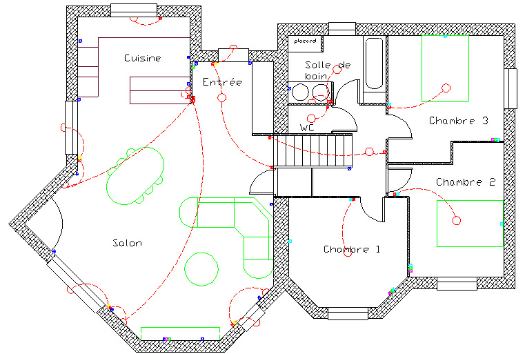 Conseil pour plan lectrique 18 messages for Consommation electrique d une maison