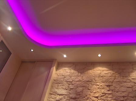 Faux Plafond Éclairage Led - Isolation Idées