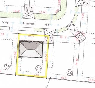 Conseils pour implantation maison l ou rectangulaire for Maison sur terrain rectangulaire