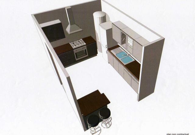 vos conseils pour une petite cuisine ouverte 16 messages. Black Bedroom Furniture Sets. Home Design Ideas