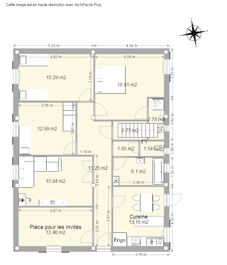 plan maison facile stunning logiciel dessin plan maison projet d with logiciel de dessin maison. Black Bedroom Furniture Sets. Home Design Ideas
