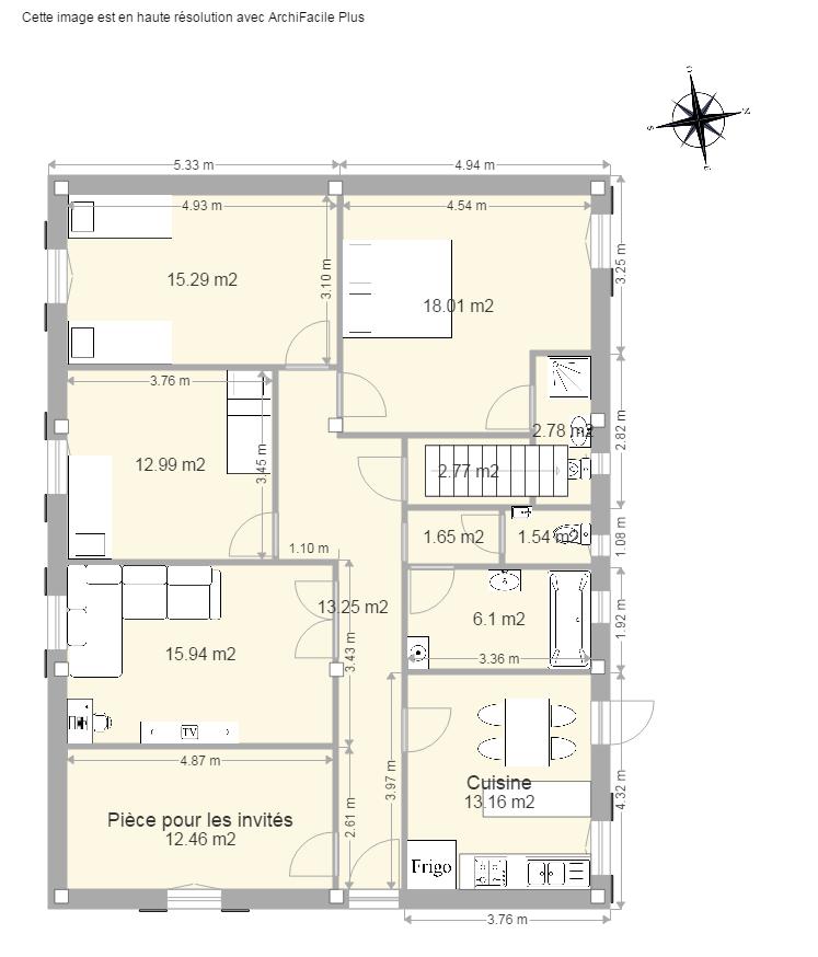 Plan maison facile stunning logiciel dessin plan maison for Plan facile maison