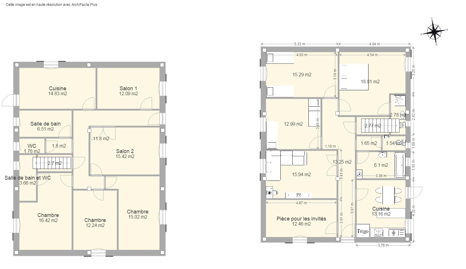 Dessin maison facile fashion designs for Plan de maison facile