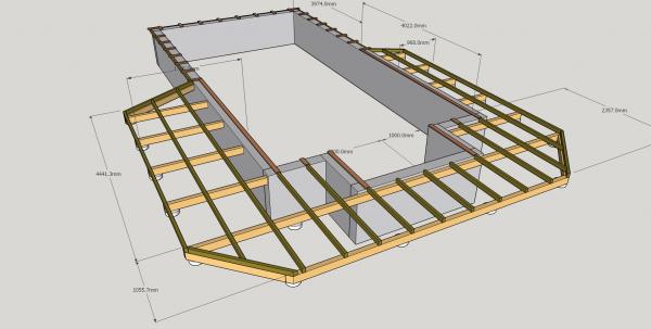 Conseils structure pour terrasse bois de piscine 13 messages for Structure piscine bois
