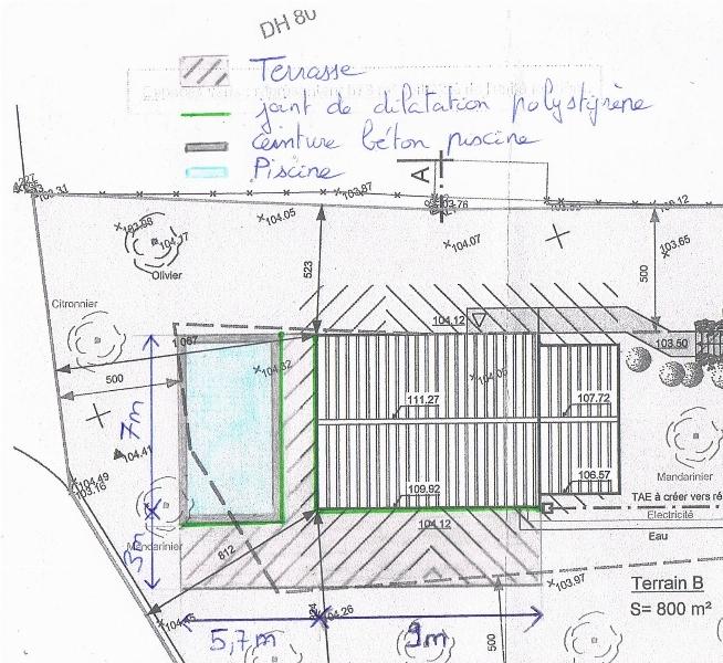 Pentes Et Joints De Dilatation Terrasse En Angle 4 Messages