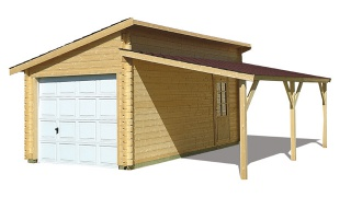 Construction garage en bois 6 messages for Budget pour construction garage