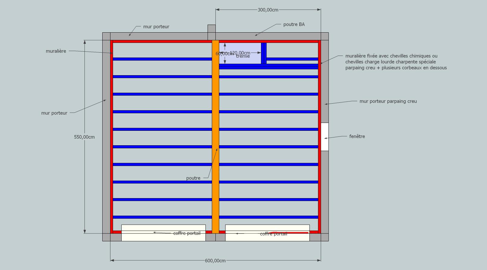 Construction d 39 un plancher au dessus du garage grenier 4 messages - Comment faire un plancher en osb ...