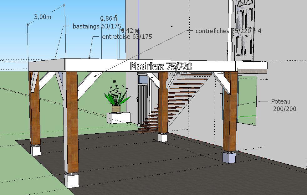 Construction terrasse bois sur lev e 33 messages page 2 for Terrasse bois surelevee