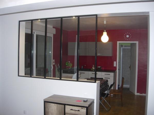 construction d 39 une verri re maison entre la cuisine et l 39 entr e r solu 50 messages. Black Bedroom Furniture Sets. Home Design Ideas