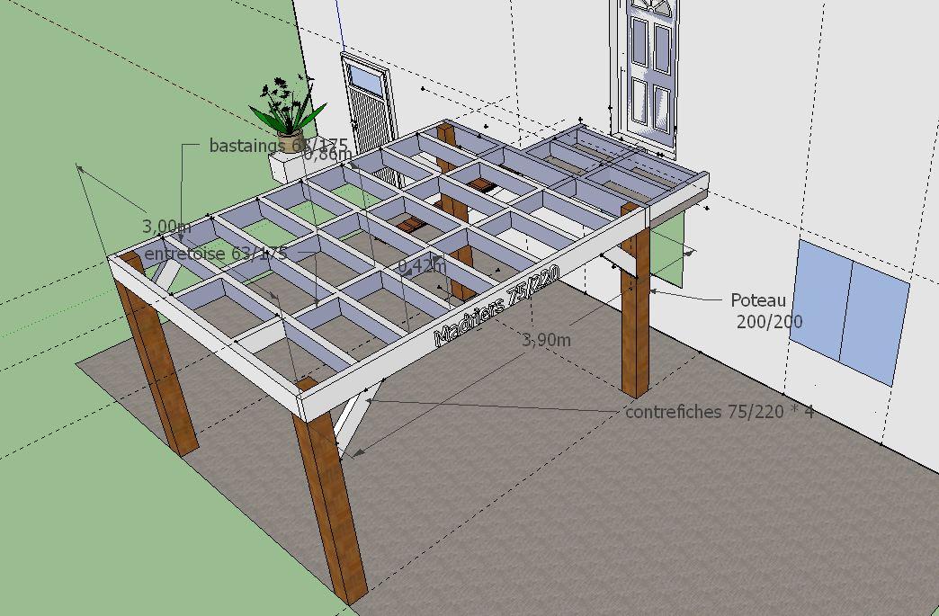 construction terrasse bois sur lev e 33 messages page 2. Black Bedroom Furniture Sets. Home Design Ideas