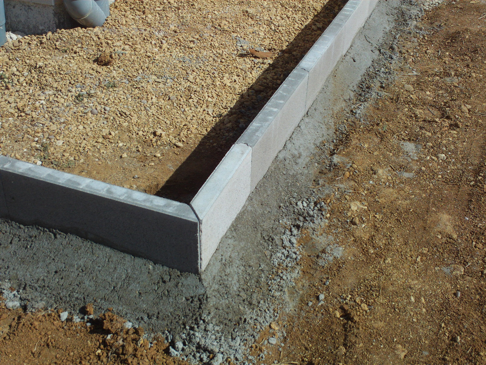 Comment Couper Des Angles Bordure En Beton