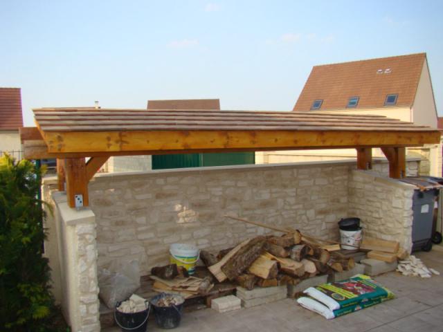 Couverture abri bois seine et marne - Quel bois pour abri de jardin ...