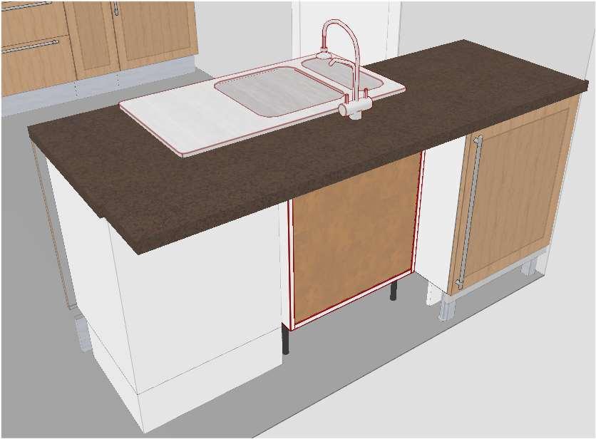 Plan cuisine ilot central lot central cuisine ikea - Plan de travail central cuisine ikea ...