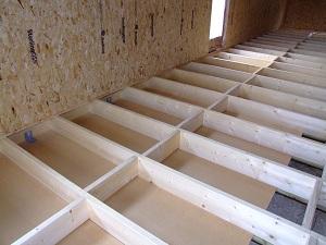 Dalle bois fond de caisson 9 messages - Isolation plancher bois par dessus ...