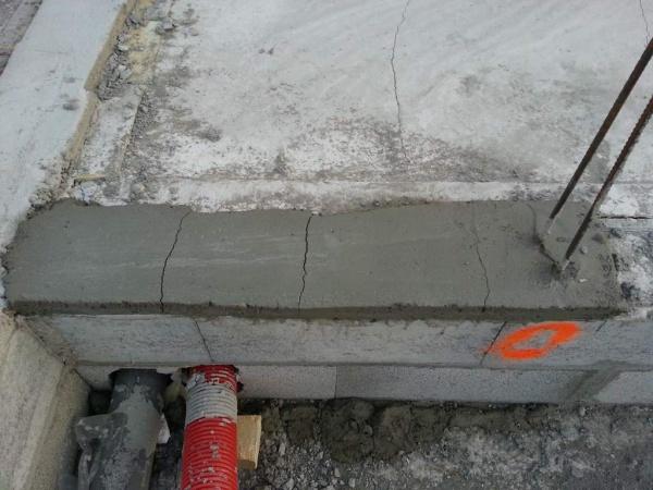 resine pour fissure dalle beton de fissures contribuant. Black Bedroom Furniture Sets. Home Design Ideas