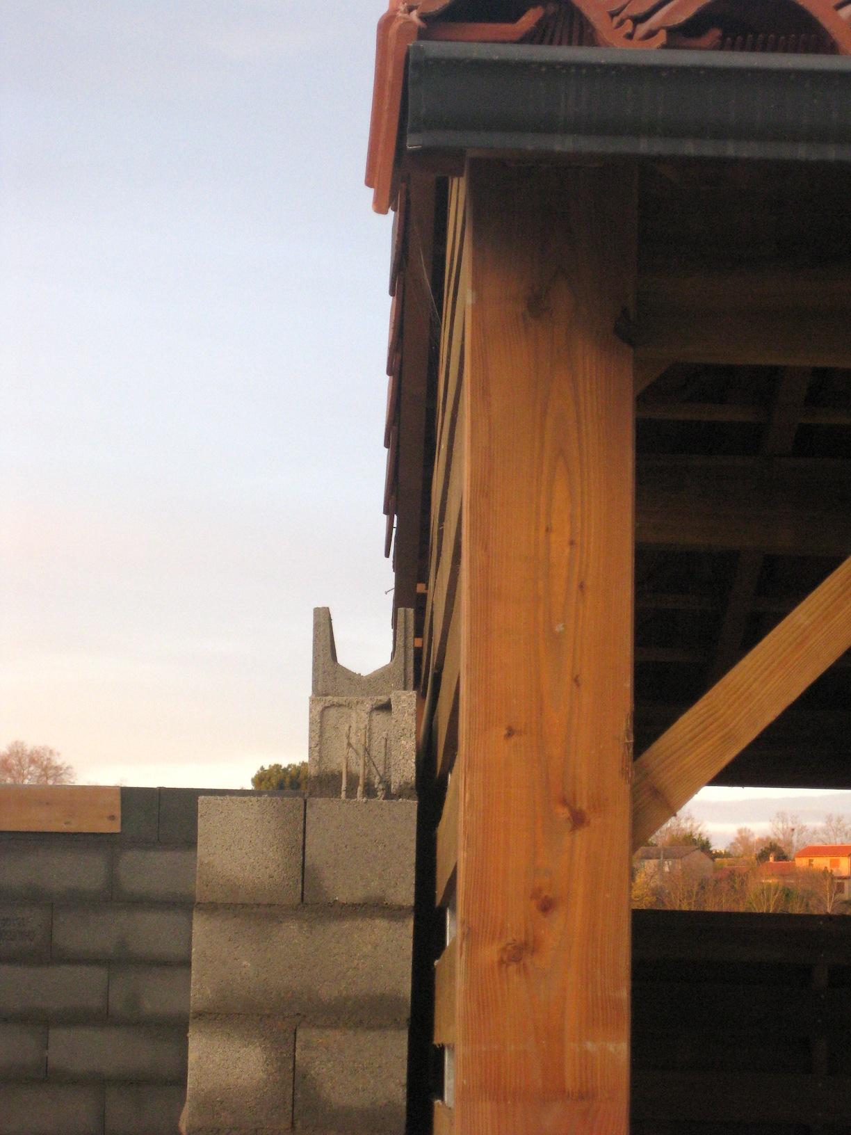 D bord de pignon du voisin en limite s parative 17 messages - Mur en limite de propriete droit ...