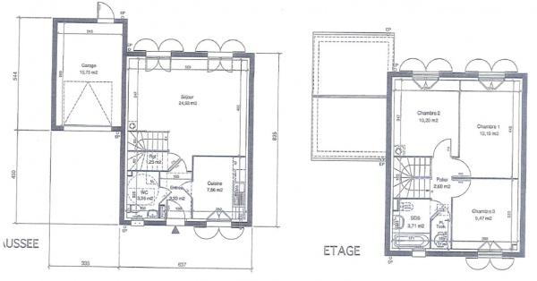 """Demande D'Avis/Conseils Plan Maison """"Vanille Windsor"""" Rt2012 - 26"""