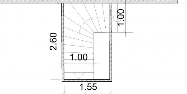 demande avis pour futur escalier beton 9 messages. Black Bedroom Furniture Sets. Home Design Ideas