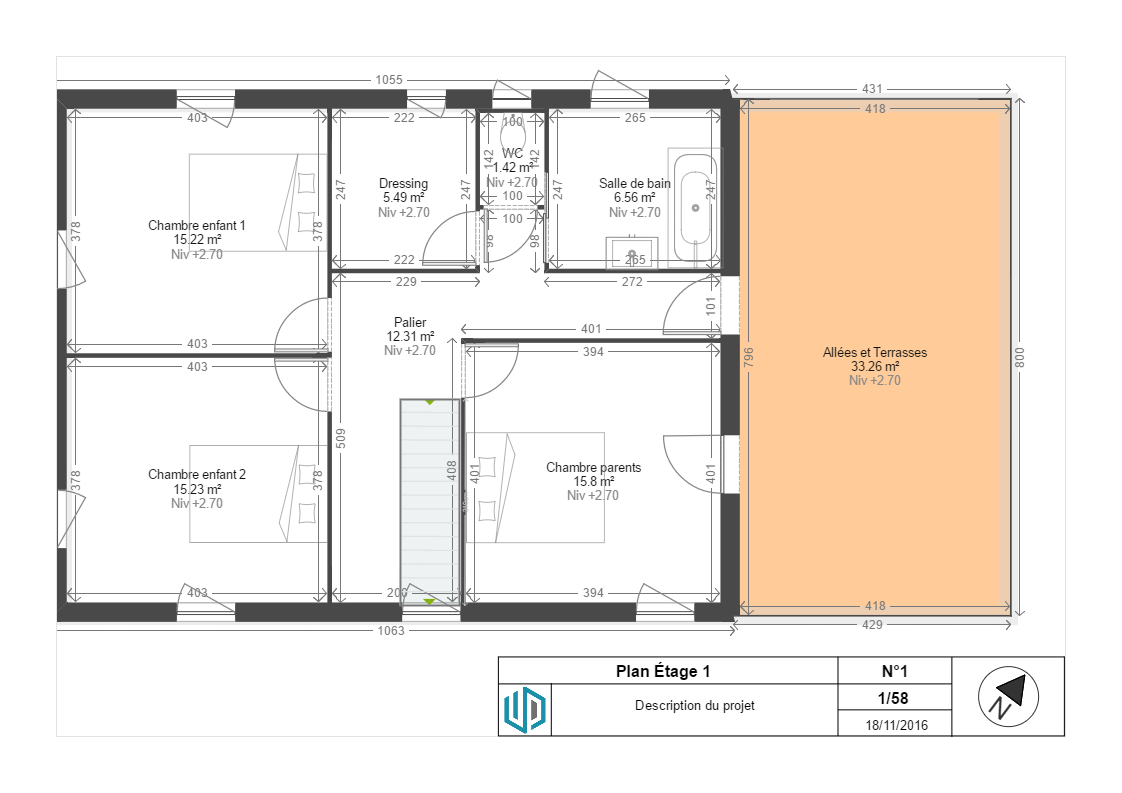 Demande avis pour une maison r 1 de 140 m2 avec garage for Demande agrandissement maison