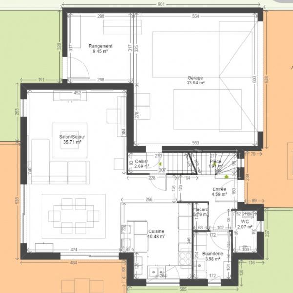 demande d 39 aide pour plans am nagement de l 39 tage r solu 88 messages. Black Bedroom Furniture Sets. Home Design Ideas