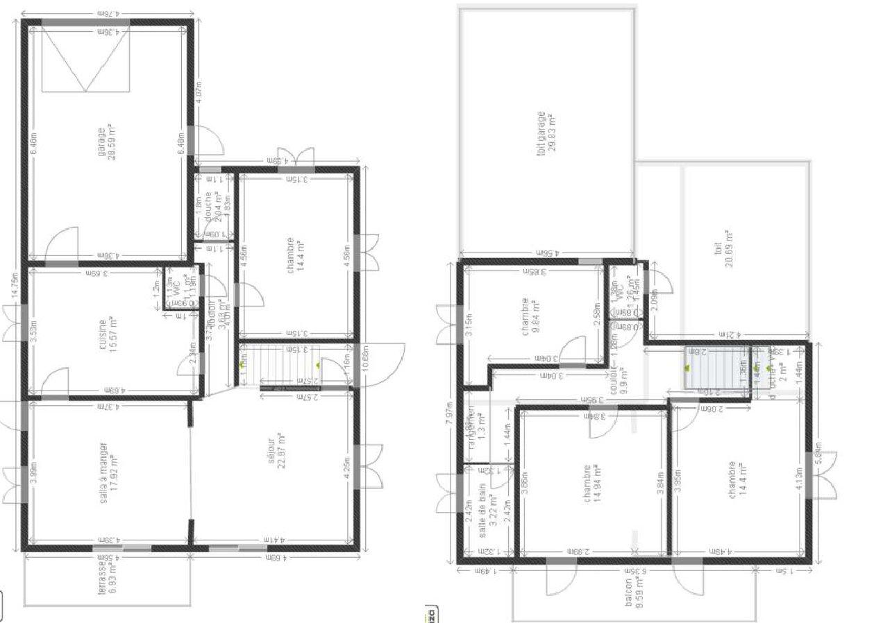 Demande avis pour plans maison 150 m 7 messages for Obtenir un plan de maison