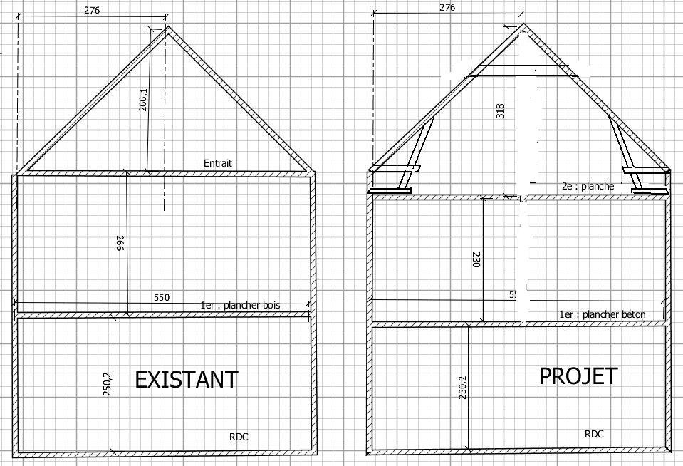 descente de charge 39 simple 39 de ma charpente. Black Bedroom Furniture Sets. Home Design Ideas