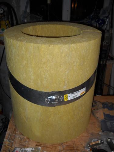 Isolation conduit de chemin e dans les combles val d oise - Isolation autour conduit cheminee ...