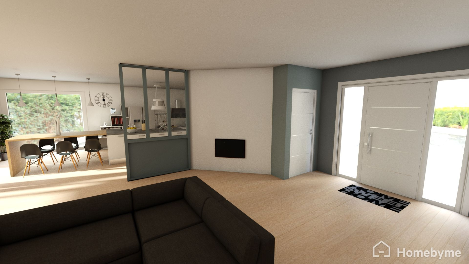 Donner votre avis sur plan d 39 amenagement salon cuisine for Plan 3d amenagement interieur
