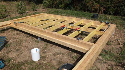 Doutes sur la construction de mon chalet en ossature bois - Refaire une piece de maison ...