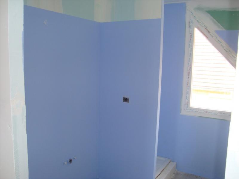 Mise en oeuvre de la sous couche int rieure etanch it - Etancheite salle de bain ...