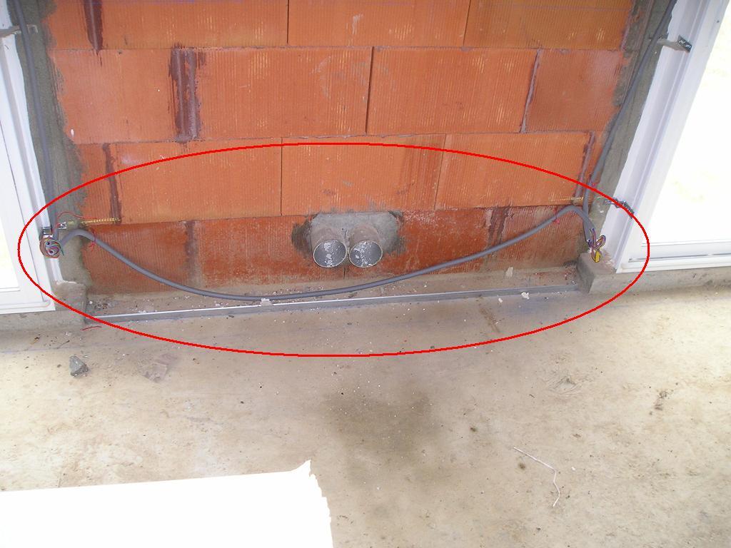 Electricit gaines et cables eletriques derri re - Passer cable dans gaine enterree ...