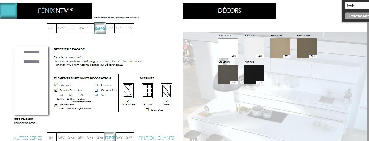 plan de travail fenix avis affordable on arrive uac de meubles et uac de plans de travail. Black Bedroom Furniture Sets. Home Design Ideas