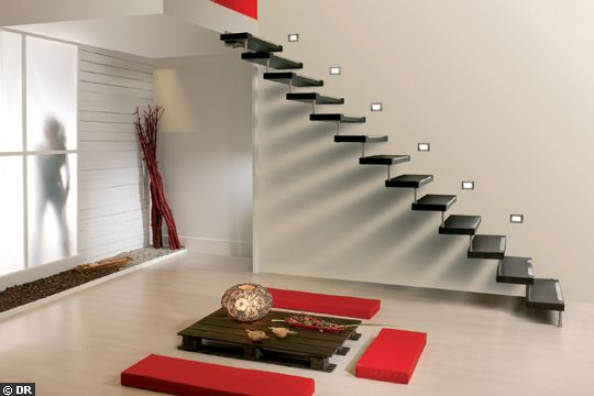 escalier suspendu 6 messages. Black Bedroom Furniture Sets. Home Design Ideas