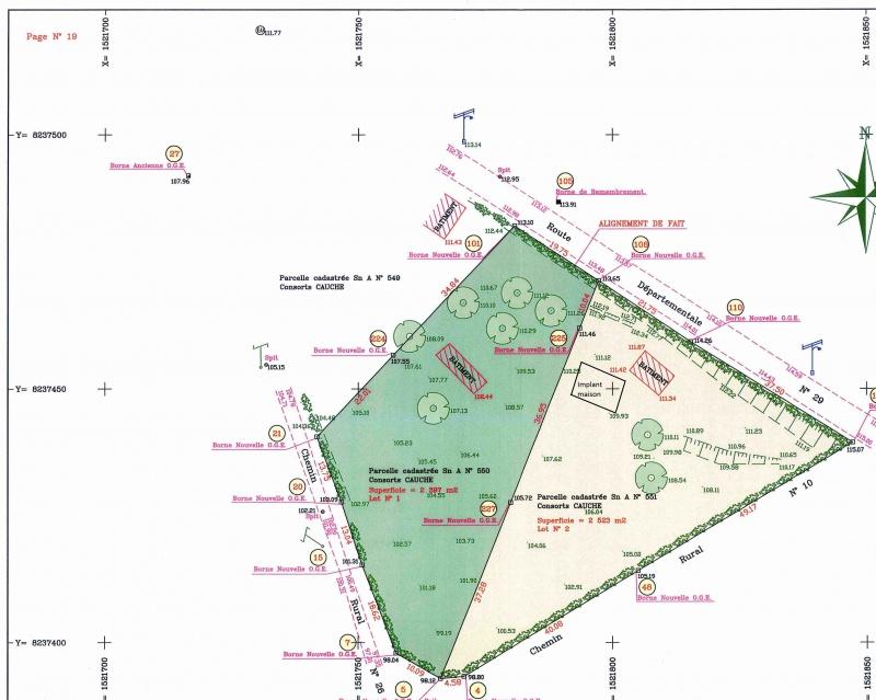 Etude Terrain Estimation DUne Pente Avec Un Plan   Messages