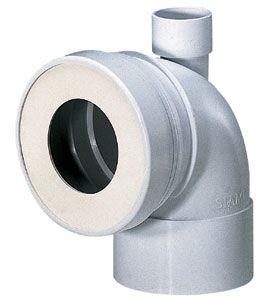 Evacuation lave main sur pipe des wc - Installation evacuation wc ...